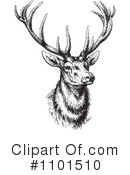Deer Clipart #1101510 by BestVector