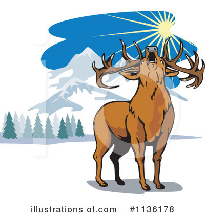 Deer Clipart #1136178 by patrimonio