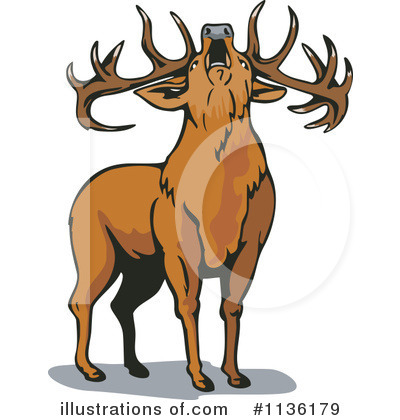 Deer Clipart #1136179 by patrimonio