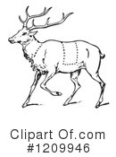 Deer Clipart #1209946 by Picsburg
