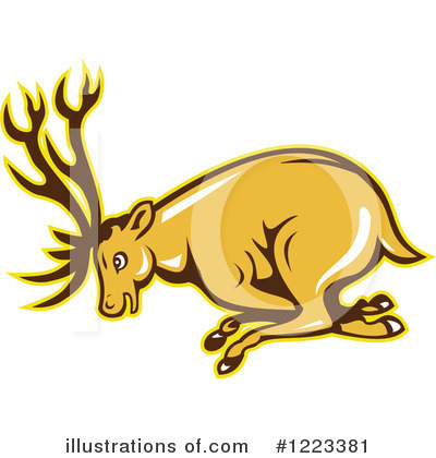 Deer Clipart #1223381 by patrimonio