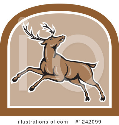 Deer Clipart #1242099 by patrimonio