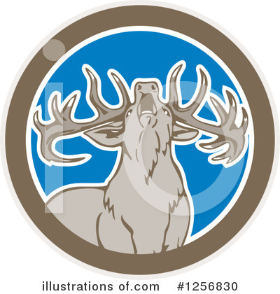 Deer Clipart #1256830 by patrimonio
