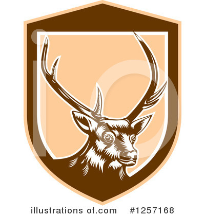 Deer Clipart #1257168 by patrimonio