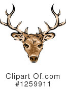 Deer Clipart #1259911 by BNP Design Studio
