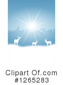 Deer Clipart #1265283 by KJ Pargeter