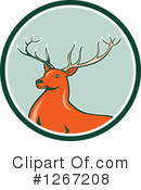 Deer Clipart #1267208 by patrimonio
