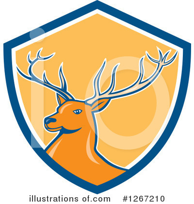 Deer Clipart #1267210 by patrimonio