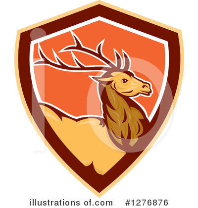 Deer Clipart #1276876 by patrimonio