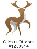 Deer Clipart #1289314 by AtStockIllustration