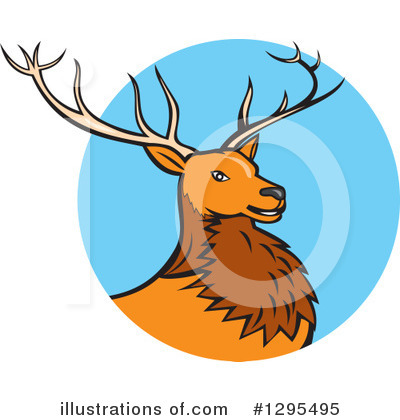 Deer Clipart #1295495 by patrimonio