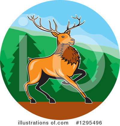Deer Clipart #1295496 by patrimonio