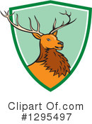 Deer Clipart #1295497 by patrimonio