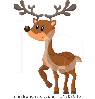 Forest Animals Clipart #1307845 by visekart
