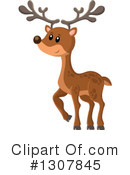 Deer Clipart #1307845 by visekart