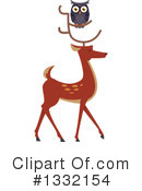 Royalty-Free (RF) Deer Clipart Illustration #1332154