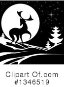Royalty-Free (RF) Deer Clipart Illustration #1346519