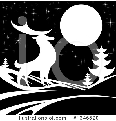 Christmas Background Clipart #1346520 by AtStockIllustration