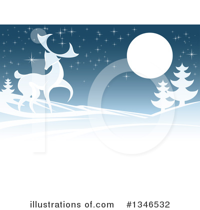 Christmas Background Clipart #1346532 by AtStockIllustration