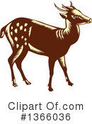 Deer Clipart #1366036 by patrimonio
