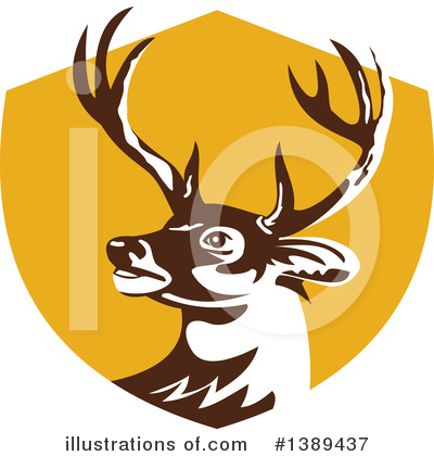 Deer Clipart #1389437 by patrimonio