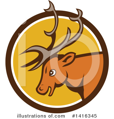 Deer Clipart #1416345 by patrimonio
