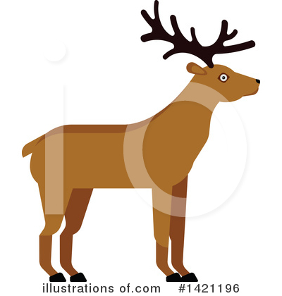 Deer Clipart #1421196 by Vector Tradition SM