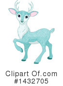 Deer Clipart #1432705 by Pushkin