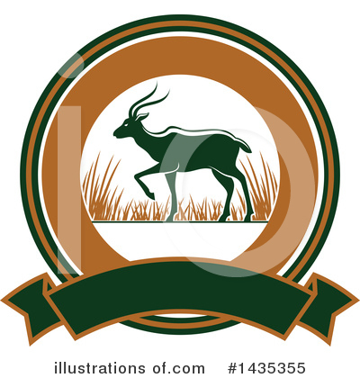 Deer Clipart #1435355 by Vector Tradition SM