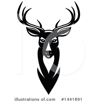 Deer Clipart #1441891 by Vector Tradition SM