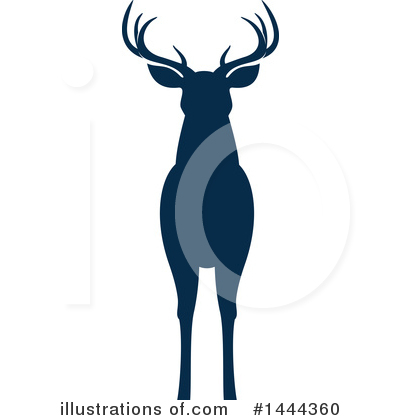 Deer Clipart #1444360 by Vector Tradition SM