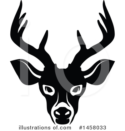 Deer Clipart #1458033 by Vector Tradition SM