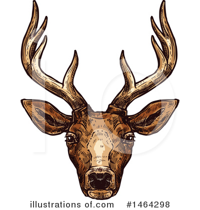 Deer Clipart #1464298 by Vector Tradition SM