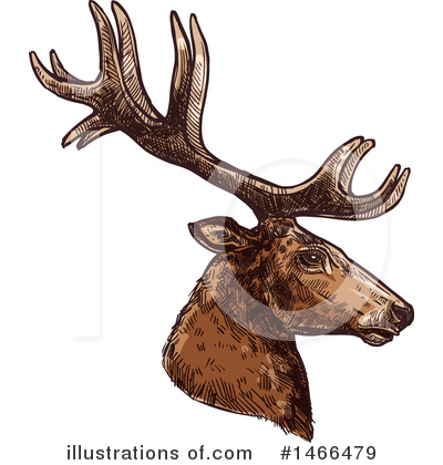 Deer Clipart #1466479 by Vector Tradition SM