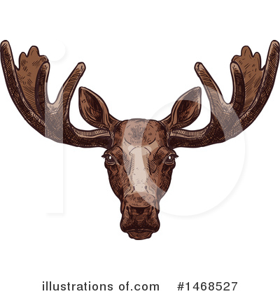 Deer Clipart #1468527 by Vector Tradition SM
