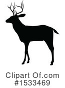 Deer Clipart #1533469 by AtStockIllustration