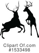 Deer Clipart #1533498 by AtStockIllustration
