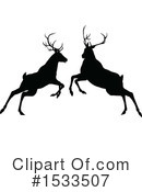 Deer Clipart #1533507 by AtStockIllustration