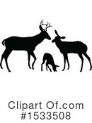 Deer Clipart #1533508 by AtStockIllustration