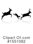 Deer Clipart #1551082 by AtStockIllustration