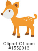 Deer Clipart #1552013 by Cherie Reve