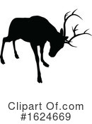 Deer Clipart #1624669 by AtStockIllustration