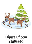 Deer Clipart #1693340 by Graphics RF