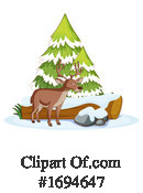 Deer Clipart #1694647 by Graphics RF