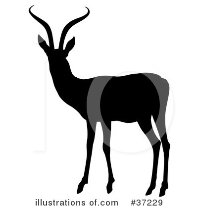 Antelope Clipart #37229 by dero
