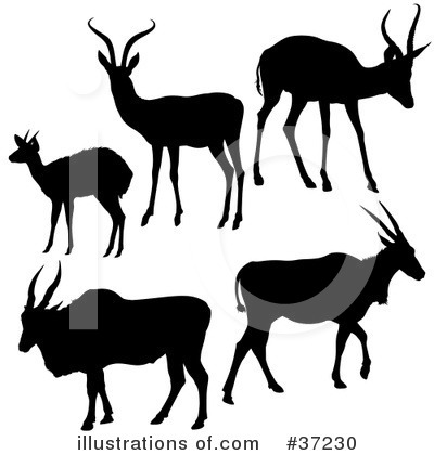 Antelope Clipart #37230 by dero