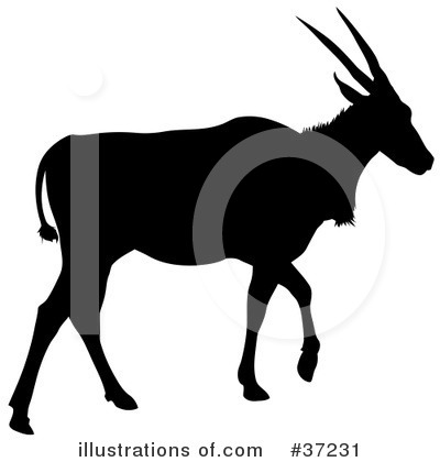 Antelope Clipart #37231 by dero