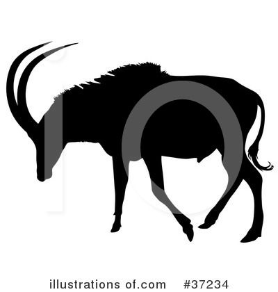 Antelope Clipart #37234 by dero