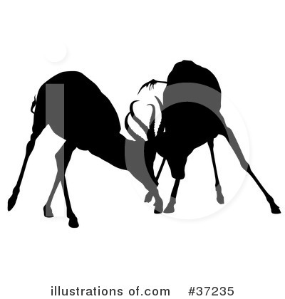 Antelope Clipart #37235 by dero