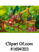 Deforestation Clipart #1694203 by Graphics RF